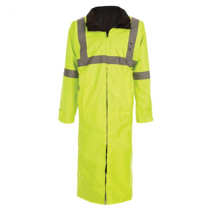 6011 Reversible Raincoat Yellow and Black