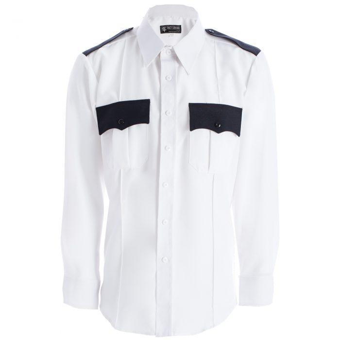 White and Dark Navy