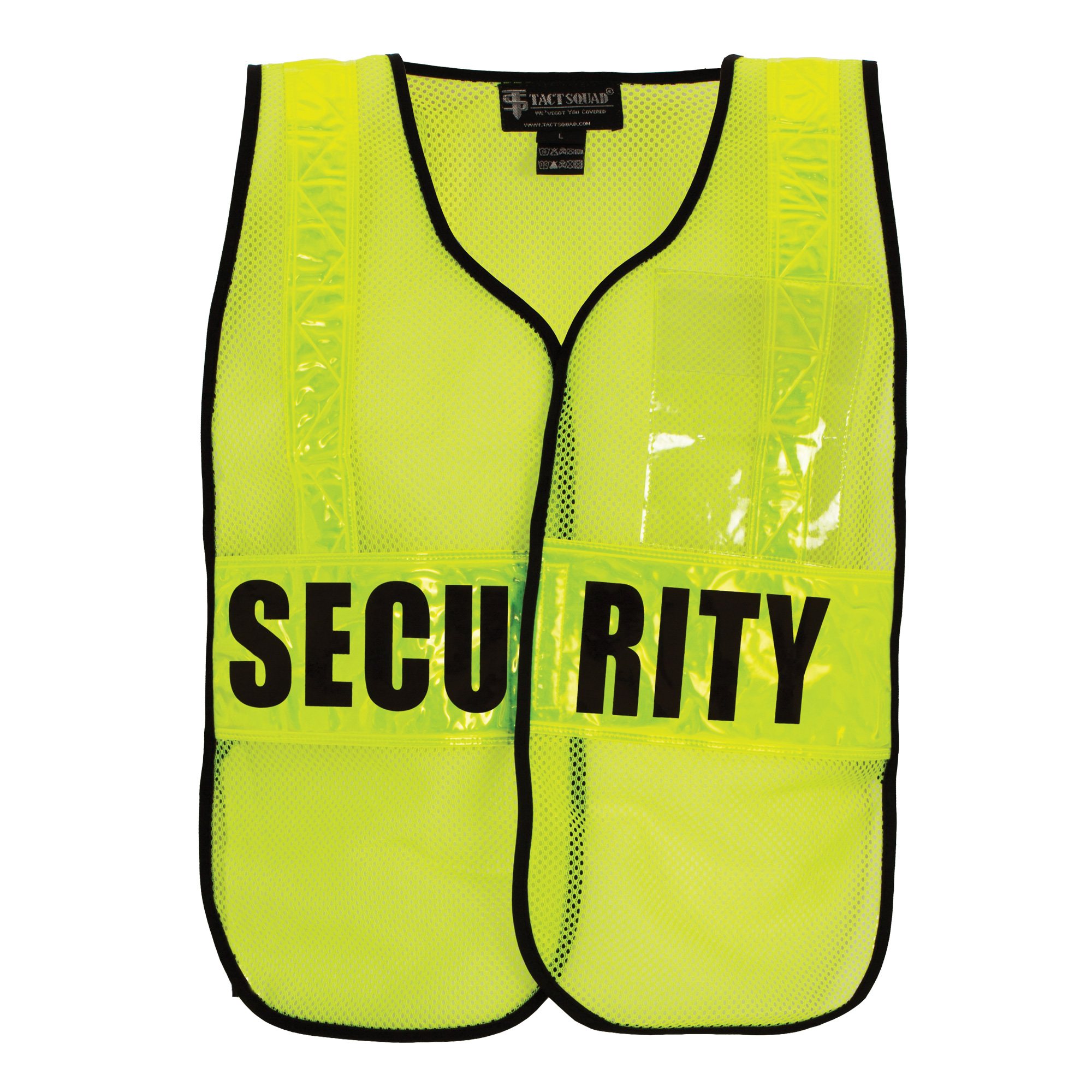 DC65 Hi-Vis Yellow with Lettering