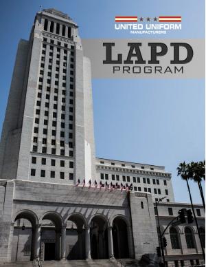 LAPD Brochure
