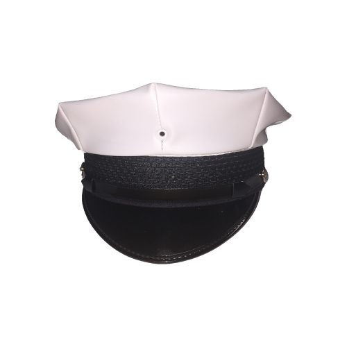 NYPD White 8-Point Traffic Cap